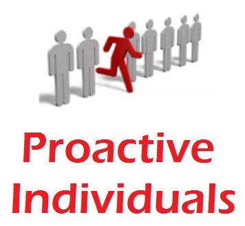 proactive individuals