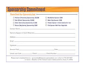 sponsorship commitment