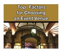 venue criteria