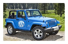 WordPress Jeep Wrangler