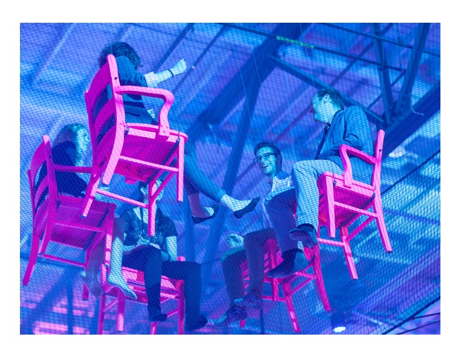C2 Montreal, suspended chairs