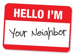 neighbor nametag