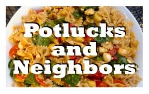 potluck, neighbors