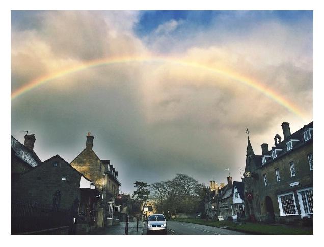 storybook rainbow, Melissa Hunter