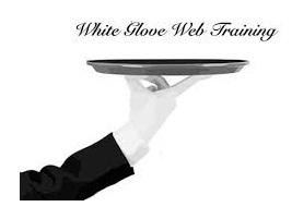 white glove web training
