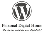 WordPress Personal Digital Home, tagline