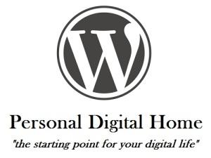 WordPress Personal Digital Home, tagline