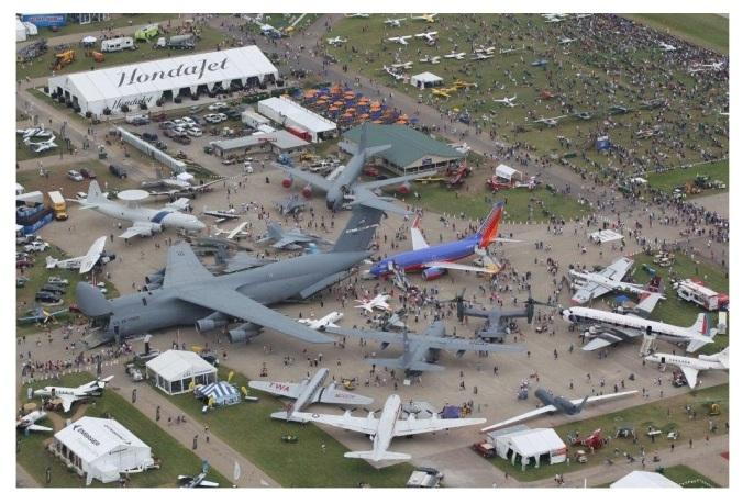 airventure aerial view