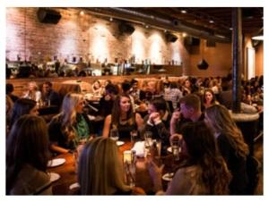 social meetup in bar