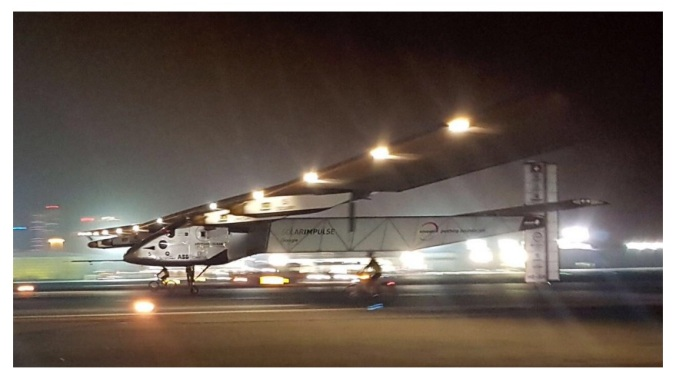 Solar Impulse 2, Abu Dhabi Touchdown, 26 July 2016