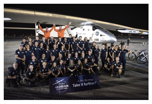 Solar Impulse 2 journey complete