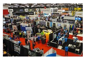 trade show display hall